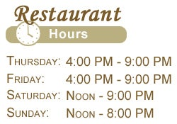 Wright's Farm Restaurant Hours